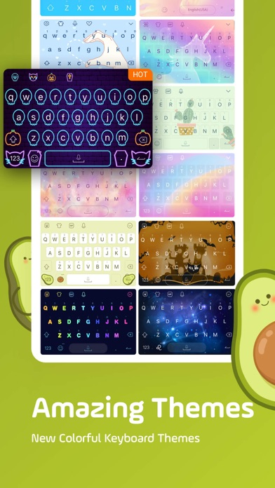 Facemoji Keyboard: Emoji&Fonts Screenshot
