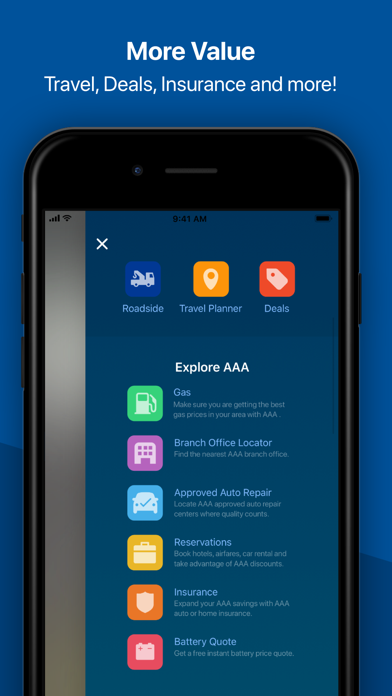 Aaa Mobile review screenshots
