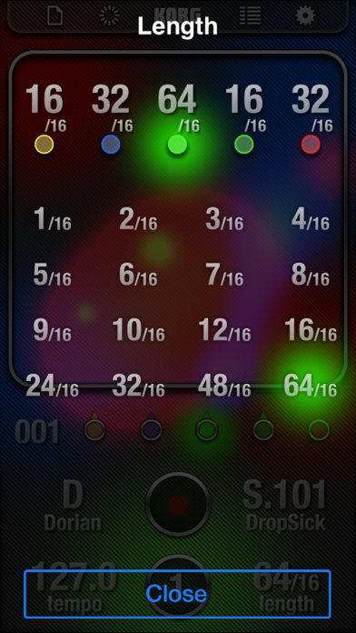 Screenshot for KORG iKaossilator in Chile App Store