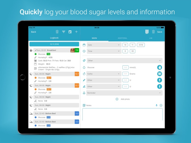 ‎Diabetes:M Screenshot