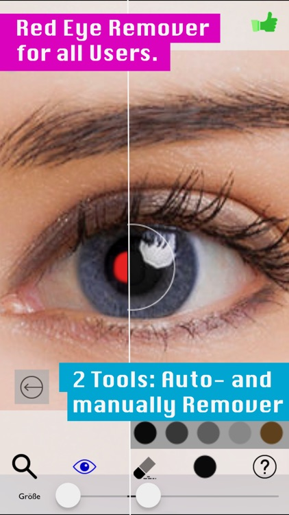 face eddy:red eye fx&airbrush screenshot-4