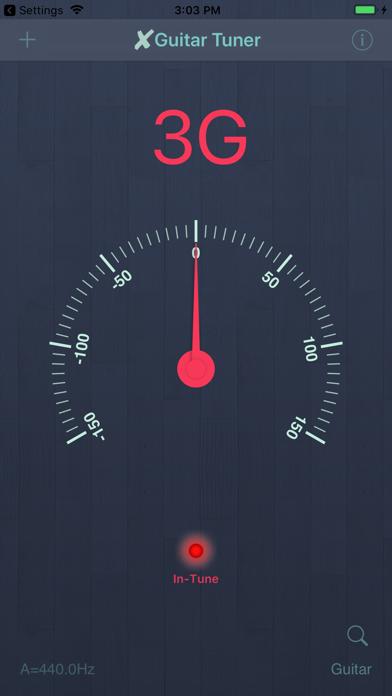 X Guitar Tuner Pro screenshot one
