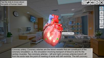 AR Human heart – A glimpse screenshot 3