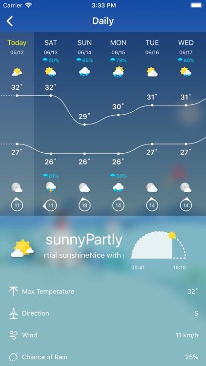 Weather - Live Weather & Radar screenshot-7