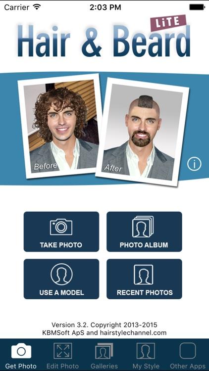 Hair and Beard Styles screenshot-7