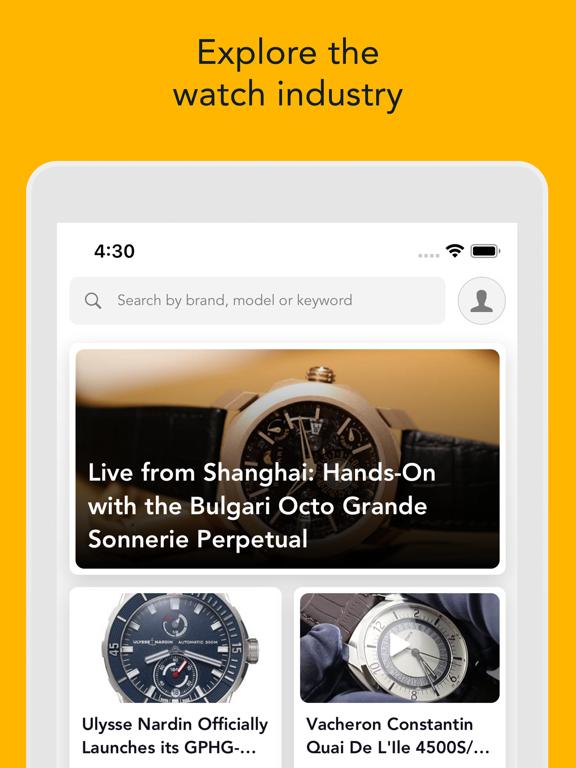 Screenshot #4 pour WatchBox - Buy, Sell & Trade