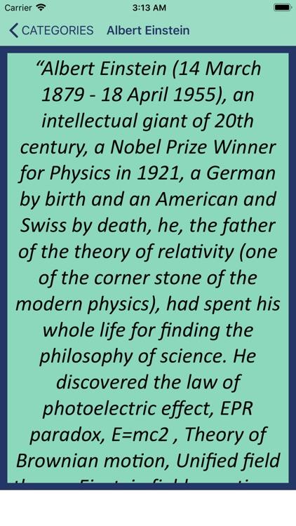 Wisdom of Albert Einstein screenshot-4