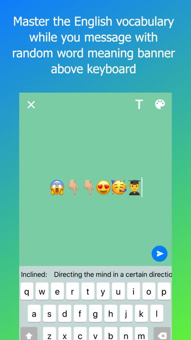 Vocabulary Keyboard Lite app image