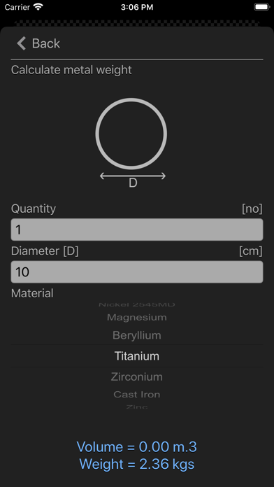 点击获取Metal Calculator Plus