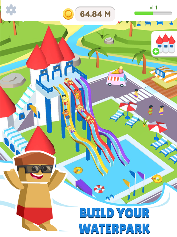 Idle Waterpark 3D Fun Aquapark на iPad