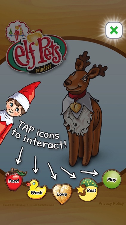 Elf Pets® Virtual Reindeer screenshot-0