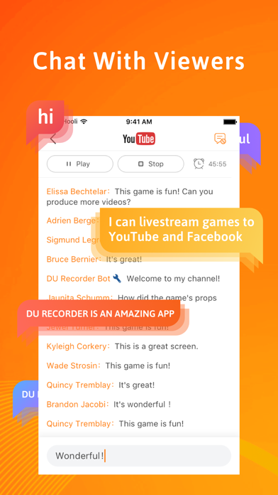 Screenshot for DU Recorder – Screen Recorder in Germany App Store