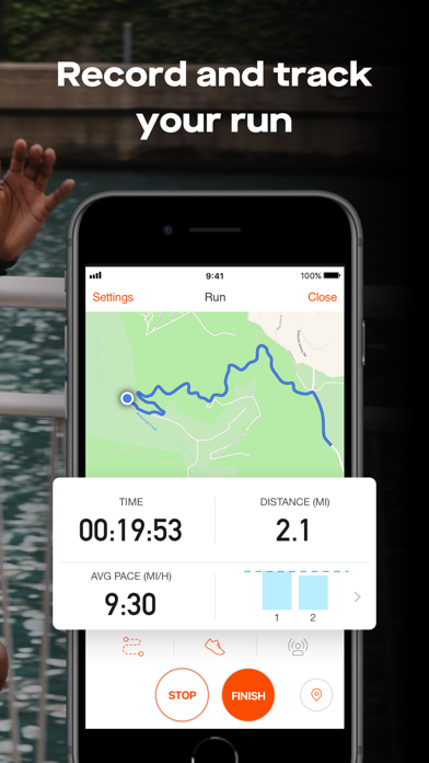 Screenshot for Strava: Run & Ride Training in Finland App Store