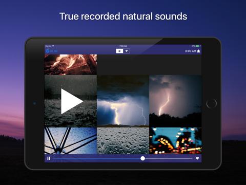 Скриншот из Sleep Sounds: relaxing sounds