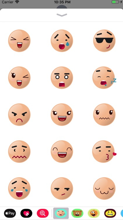 man pro face emoji sticker