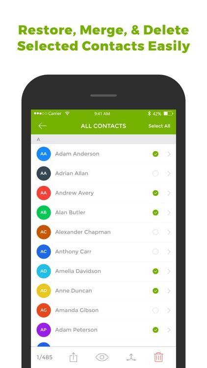 My Contact Backup & Restore screenshot-4