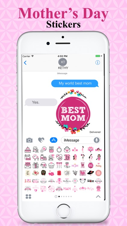Mother's Day Special Stickers screenshot-4