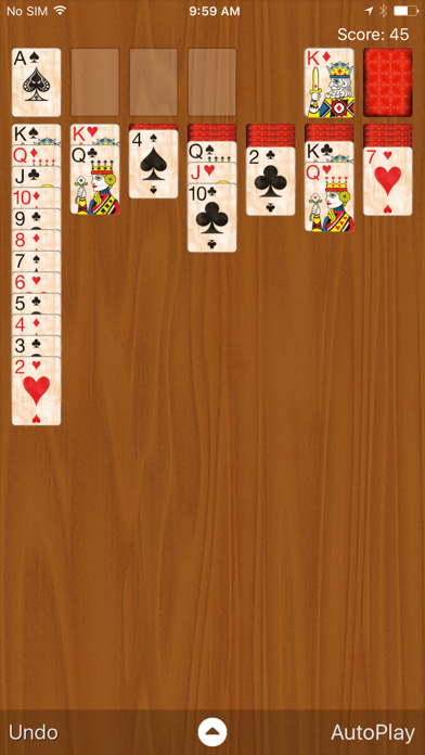Solitaire Classic screenshot two