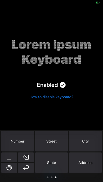 Lorem Ipsum Keyboard review screenshots