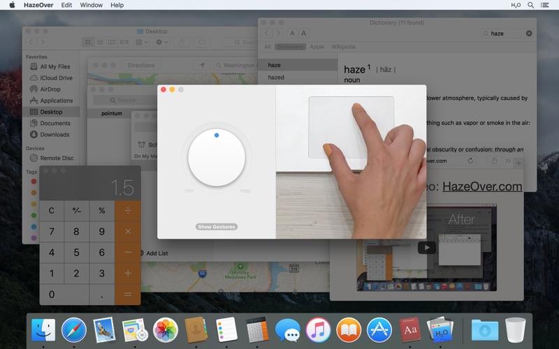 HazeOver Screenshot