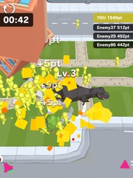 Dinosaur Rampage ipad images