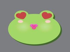 Cutefrog emoji stickers