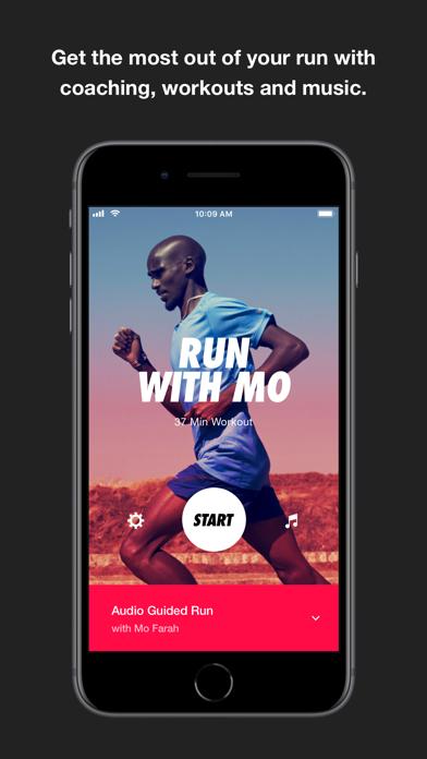 Nike Run Club review screenshots