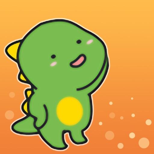 萌萌小笨龙Stickers icon