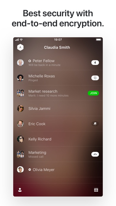 Screenshot for Wire • Secure Messenger in Portugal App Store