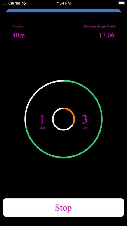 Neon Bleep Test PRO screenshot-4