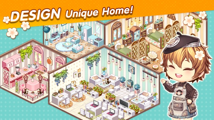 Kawaii Home Design screenshot-0