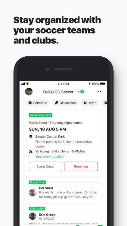 ENDALGO - Find Soccer Near You