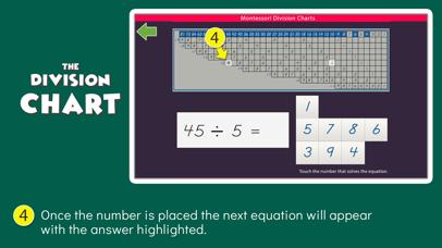 Montessori Division Charts screenshot 4