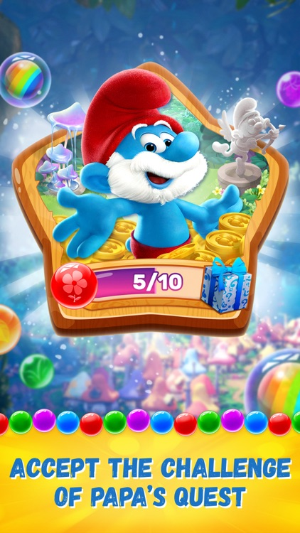 Smurfs Bubble Shooter Story screenshot-7