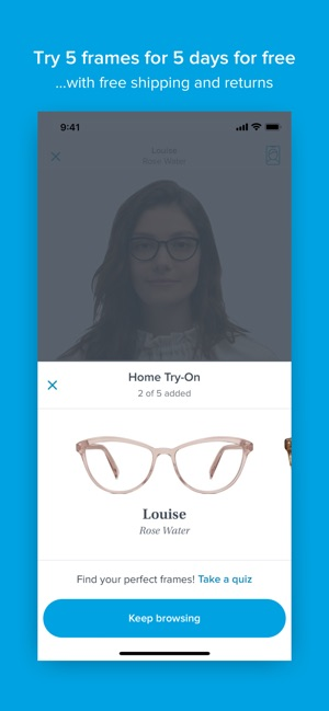 324cb78717b Glasses by Warby Parker on the App Store
