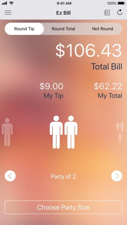 Ez Bill - Tip Calculator