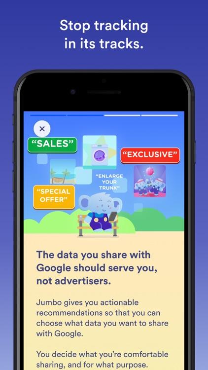 Jumbo: Privacy + Security screenshot-8