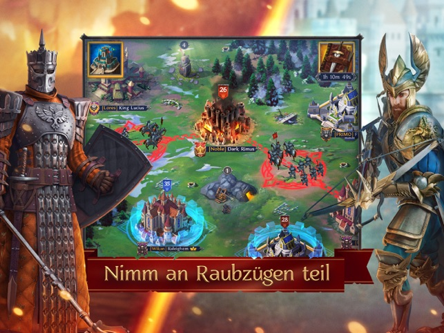 ‎Throne: Kingdom at War Screenshot