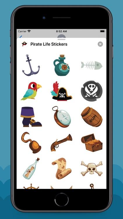 Pirate Life Stickers screenshot-3