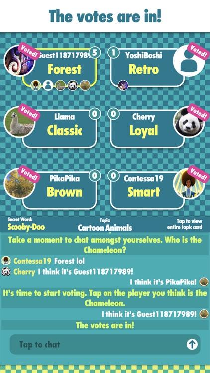 The Chameleon Board Game screenshot-4