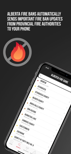 Alberta Fire Bans on the App Store