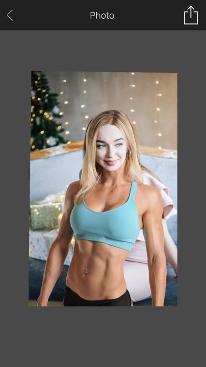 FitnessGirl Photo Fun screenshot-3