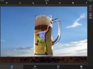 Superimpose ipad images