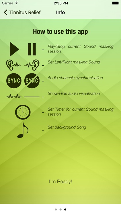 Tinnitus Relief Sound Masking screenshot-3