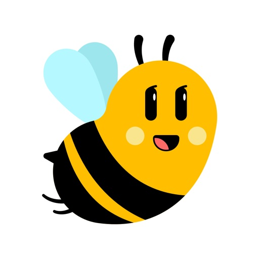 Love Bees Stickers