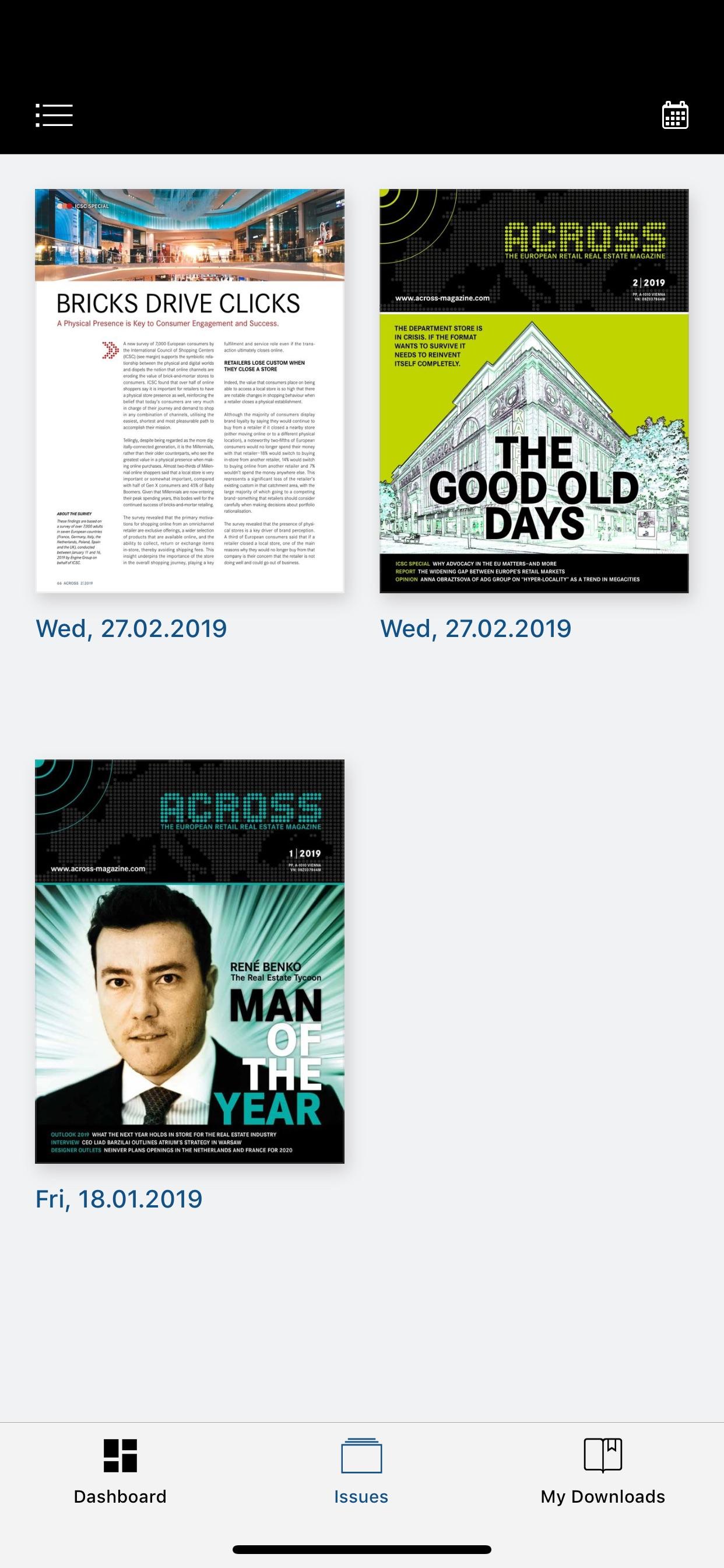 ACROSS Magazine cheats