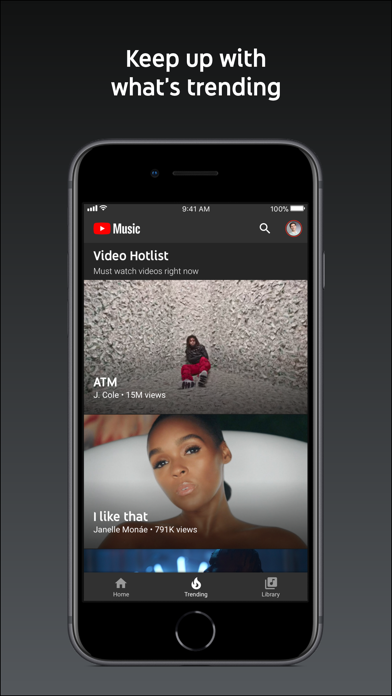 Screenshot for YouTube Music in United States App Store