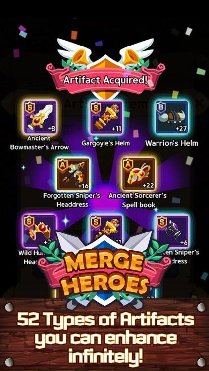 Merge Heroes Frontier screenshot-3