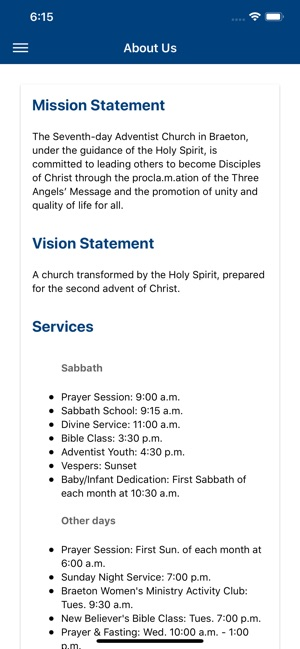 Braeton SDA Church on the App Store