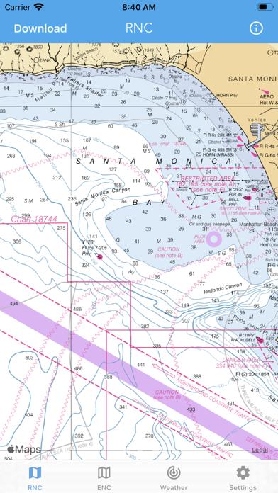Nautical Charts & Maps Screenshot